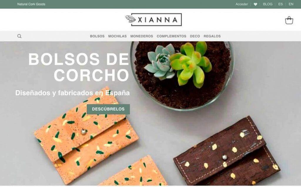 La web de Xianna actual